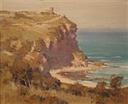 Sale 8606 - Lot 572 - Robert Johnson (1890 - 1964 ) - Untitled (Coastal Scene), 1927 37 x 44cm