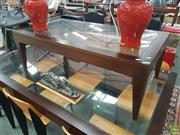 Sale 8611 - Lot 1047 - Modern Glass Top Coffee table