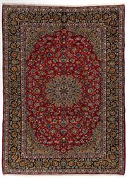 Sale 8740C - Lot 1 - A Persian Najafabad From Isfahan Region 100% Wool Pile On Cotton Foundation, 410 x 360cm