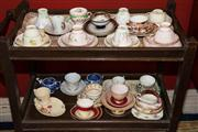 Sale 7962B - Lot 70 - Group of Trios including Tuscan, Doulton Etc