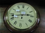 Sale 7974A - Lot 1004 - Victoria Station Wall Clock