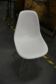 Sale 8129 - Lot 1031 - Set of 4 Eames Style Eiffel Chairs