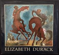 Sale 8176A - Lot 2 - The Art of Elizabeth Durack. Angus and Robertson 1982. Dustjacket, colour plus black and white plates,  75 pages.