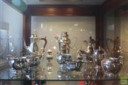 Sale 8217 - Lot 142 - Silver Plated Hardy Bros Teapots with Other Silver Plated Teapots & Others
