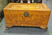 Sale 8284 - Lot 1033 - Camphorwood Lift Top Trunk