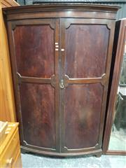 Sale 8740 - Lot 1698 - Timber Wardrobe with Two Doors