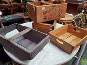 Sale 8469 - Lot 1071 - Four Varied Timber Boxes