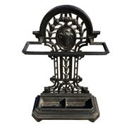 Sale 8562R - Lot 84 - Victorian Cast Iron Black Painted Stick Stand (H: 83cm)