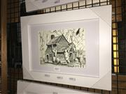 Sale 8776 - Lot 2013 - Greg Lipman - Cooks Cottage, pen, ink and gouache, 21 x 29, signed