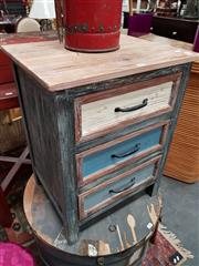 Sale 8843 - Lot 1070 - Rustic shabby Chic Bedside