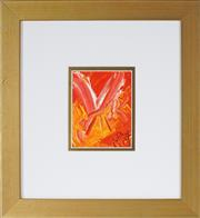 Sale 8930A - Lot 5026 - Kevin Charles (Pro) Hart (1928 - 2006) - Dragonfly 12 x 9 cm (frame size: 30 x 32.5 x 3 cm)