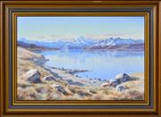 Sale 8382 - Lot 579 - Aston Greathead (1921 - 2012) - Mt. Sefton, Cook, Liebig Range, Lake Pukaki, Tasman Valley 32 x 49cm