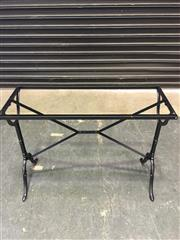Sale 8451B - Lot 30 - Cast Iron Table Base, for rectangular cafe table