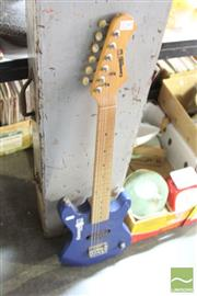 Sale 8478 - Lot 2230 - Small Kids Electric Guitar