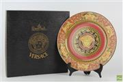 Sale 8563 - Lot 36 - Boxed Rosenthal Versace Plate