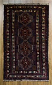 Sale 8559C - Lot 56 - Persian Baluchi 216cm x 116cm