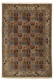 Sale 8715C - Lot 56 - A Persian Mood From Khorasan Region Very Fine, 100% Wool And Silk Inlaid Pile, 300 x 205cm