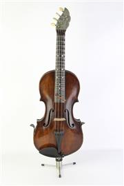Sale 8783 - Lot 2 - Fretted Violin