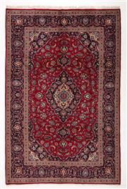 Sale 8760C - Lot 64 - A Persian Kashan From Isfahan Region 100% Wool Pile On Cotton Foundation, 300 x 200cm