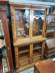 Sale 8831 - Lot 1067 - Continental Beech Bookcase