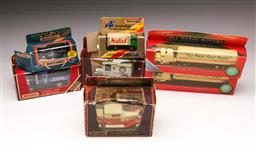 Sale 9098 - Lot 190 - Collection of 7 Boxed Vehicles incl. Matchbox & Woolworths Trucks