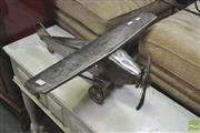 Sale 8272 - Lot 1094 - Metal Model Plane