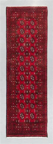 Sale 8499C - Lot 43 - Afghan Turkman Runner 380cm x 82cm