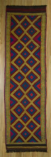 Sale 8617C - Lot 81 - Turkish Killem Runner 243x70