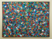 Sale 8677B - Lot 533 - Artist unknown, 'Colourstorm' oil on canvas,  165cm x  220cm