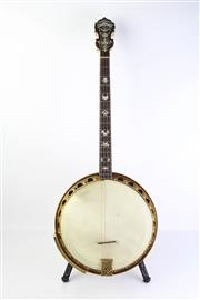 Sale 8783 - Lot 1 - Early Paramount Banjo