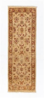 Sale 8790C - Lot 178 - An Afghan Chobi, Naturally Dyed In Hand Spun Wool, 193 x 66cm