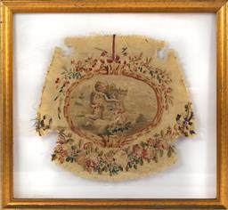 Sale 9135H - Lot 96 - A superb Mid 18th Century French tapestry in modern frame.  1M Width, 94cm Height