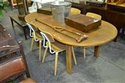 Sale 8147 - Lot 1082 - Timber Dining table