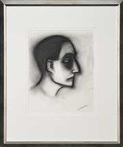 Sale 8309 - Lot 557 - Robert Dickerson (1924 - 2015) - Musing 37 x 29cm