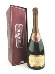 Sale 8553 - Lot 1779 - 1x NV Krug Grande Cuvee Brut, Champagne - old bottling, in box