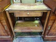 Sale 8657 - Lot 1089 - Timber Drinks Trolley