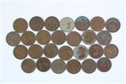 Sale 8835C - Lot 62 - Collection of King George V Australian Pennies Incl. 1911, 13, 15, 17, 19, 20, 21, 23