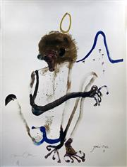 Sale 8859A - Lot 5026 - John Olsen (1928 - ) - Mandrill 112 x 87.5cm