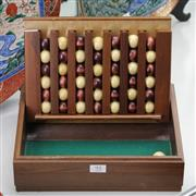 Sale 8362 - Lot 95 - Timber Connect 4 Game