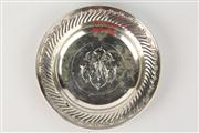 Sale 8445A - Lot 5 - Austro Hungarian Round Silver Dish - diameter - 15.5cm - weight - 130g