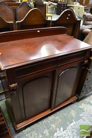 Sale 8460 - Lot 1088 - Late 19th Century Cedar Chiffonier, with two drawers and doors