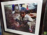 Sale 8525 - Lot 2086 - Artist Unknown Young Boy, photograph, 88 x 100cm (frame size) unsigned