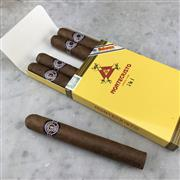 Sale 8970 - Lot 641 - Montecristo No. 4 Cuban Cigars - pack of 5 stamped June 2018