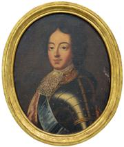 Sale 8259 - Lot 596 - Attributed Godfrey Kneller (1646-1723) - Portrait of an Aristocrat 37.8 x 30cm