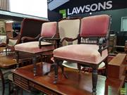 Sale 8570 - Lot 1035 - Pair of Parlour Chairs