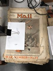 Sale 8802 - Lot 70 - Early Australian WWI Period The Sydney Mail Newspapers incl. 11 Nov 1914, 28 Oct 1914, 20 Jan 1915, 9 Aug 1916, 18 July 1917 & Cov...