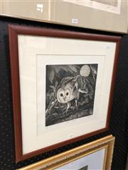 Sale 8803 - Lot 2005 - Jane Stapleford Around Midnight Limited Edition Etching (49x 49cm) Signed Lower Right -