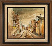 Sale 8818A - Lot 63 - BCorbeauDRI Parisienne ImpressionsDR oil on canvasR 50 x 60cmR SLL