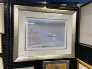 Sale 9087 - Lot 2051 - Clarice Beckett - Misty Morning, frame: 85 x 105