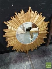 Sale 8532 - Lot 1003 - Modern Starburst Mirror